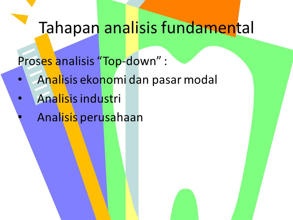 Tahapan analisis fundamental
