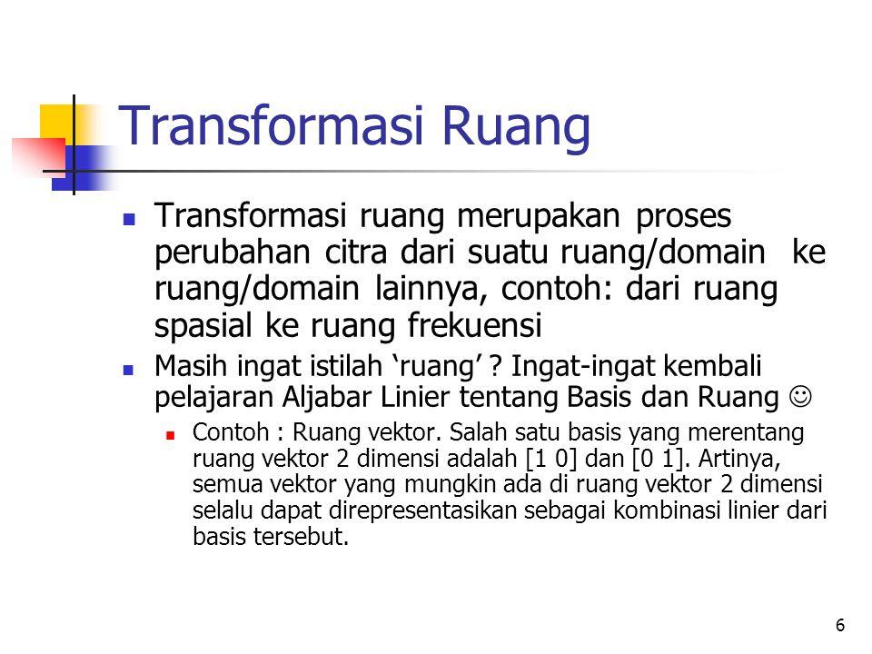 Transformasi Ruang