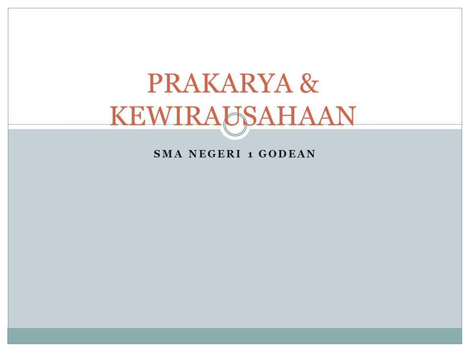 PRAKARYA & KEWIRAUSAHAAN