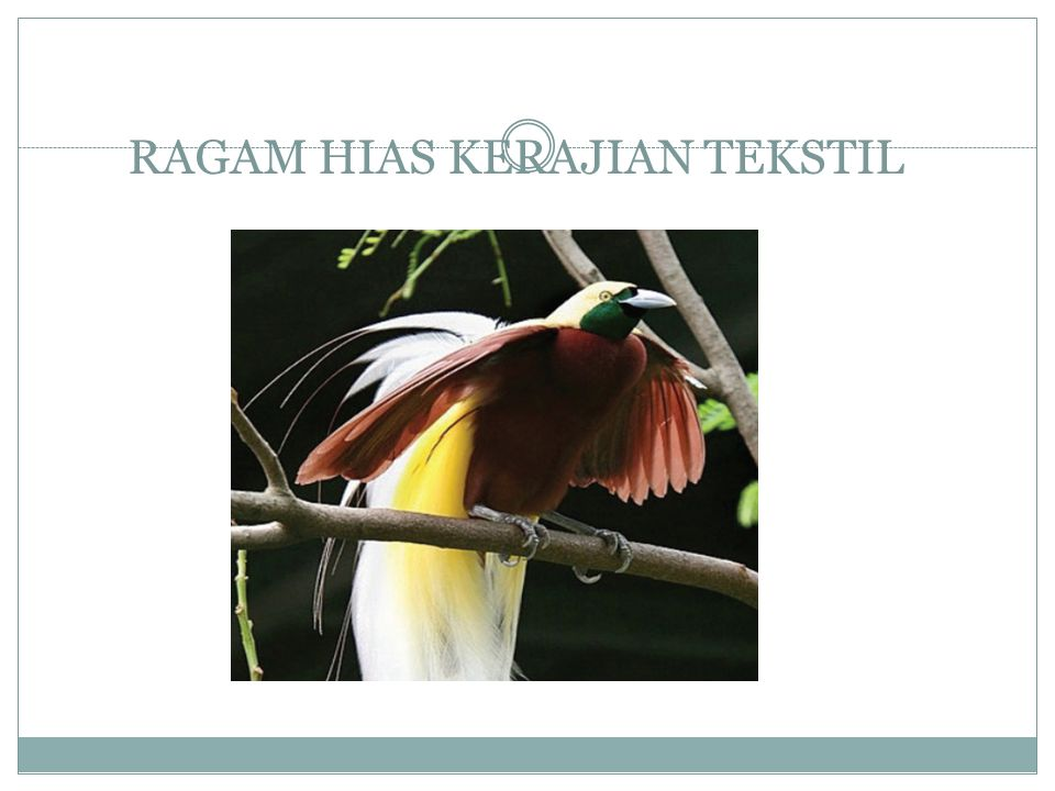 RAGAM HIAS KERAJIAN TEKSTIL