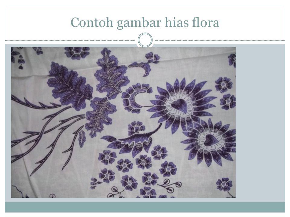 Contoh gambar hias flora