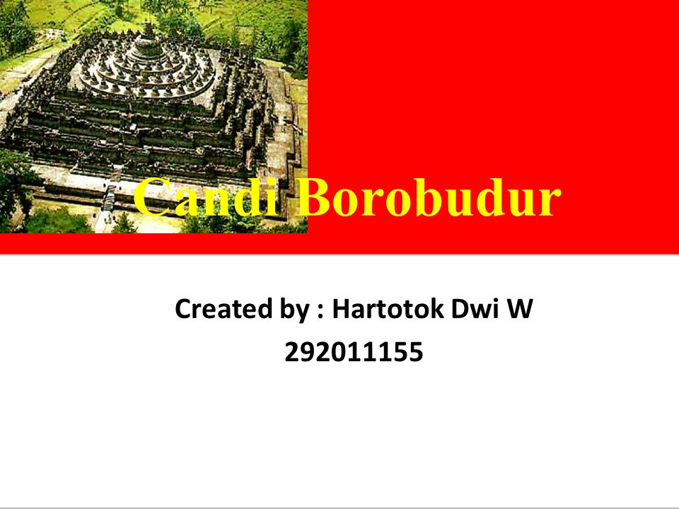 Created by : Hartotok Dwi W 292011155