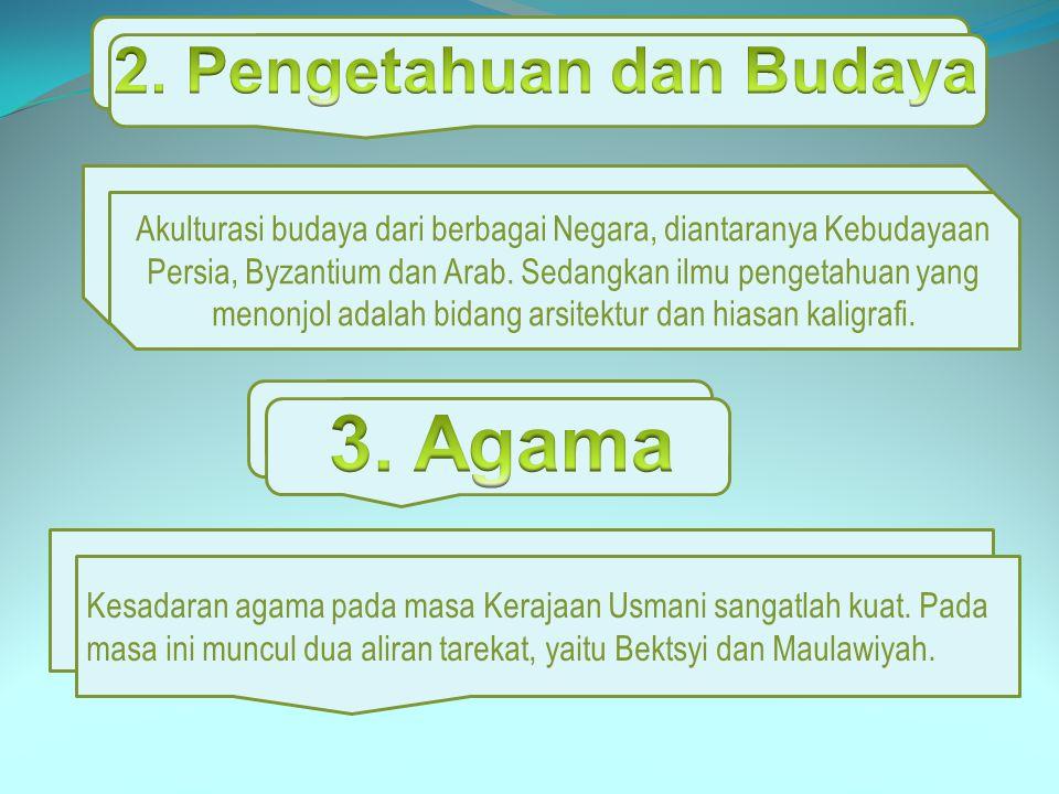 2. Pengetahuan dan Budaya