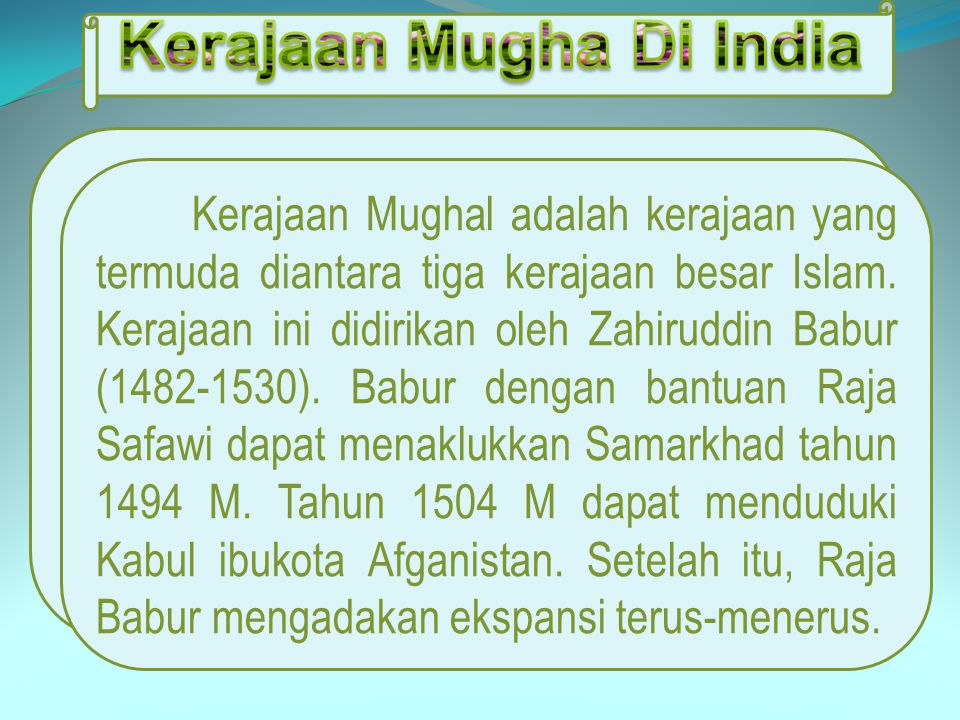 Kerajaan Mugha Di India