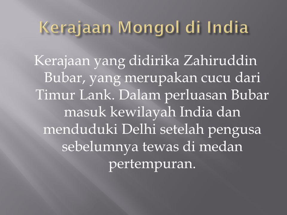 Kerajaan Mongol di India