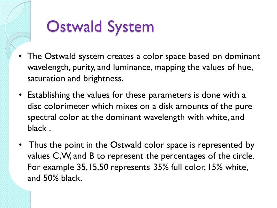 Ostwald System