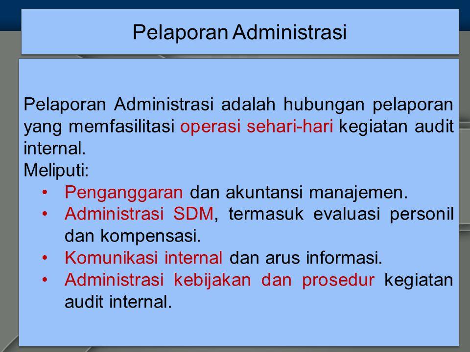 Pelaporan Administrasi