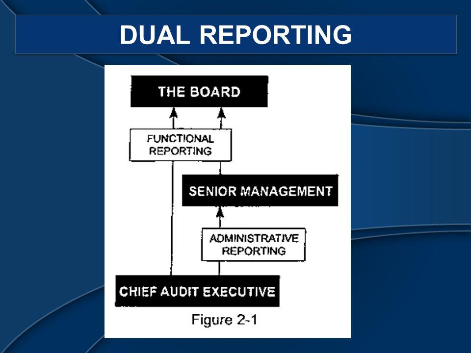 DUAL REPORTING
