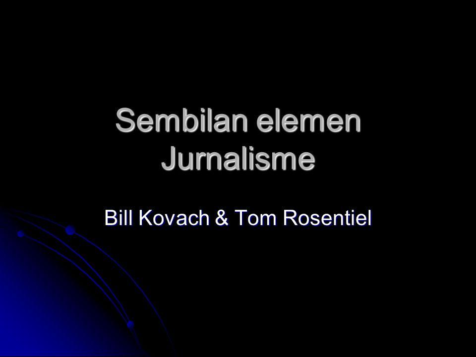Sembilan elemen Jurnalisme