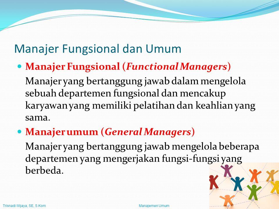 Manajer Fungsional dan Umum