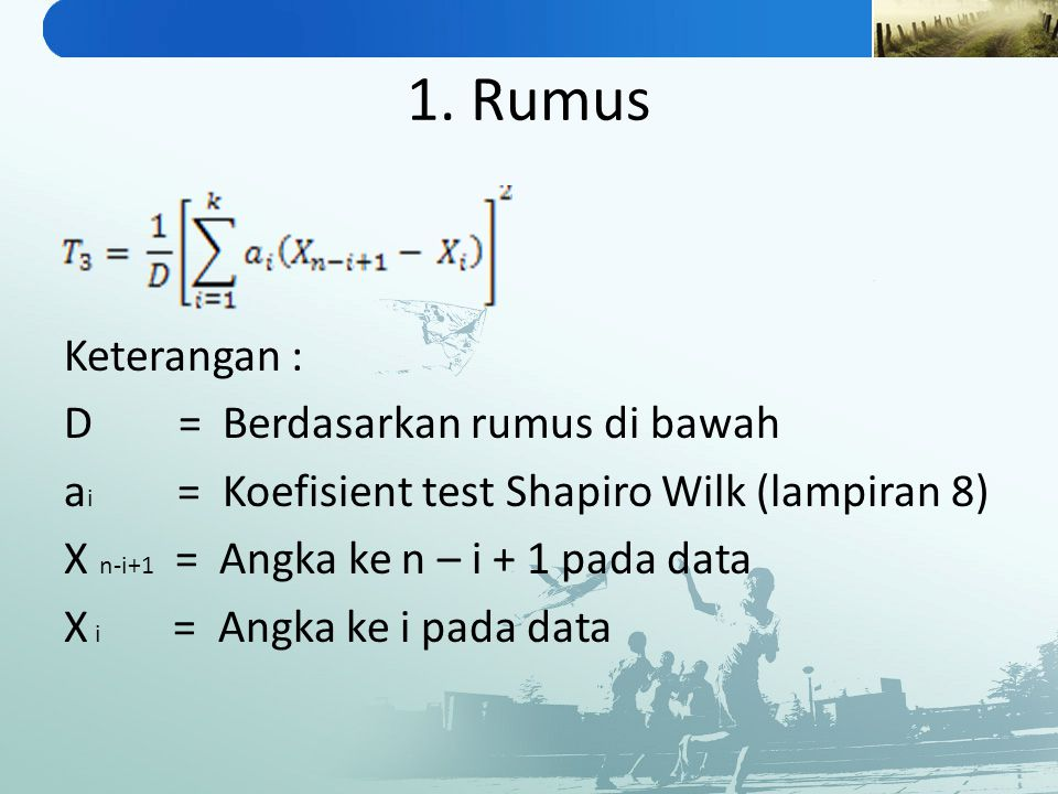 1. Rumus