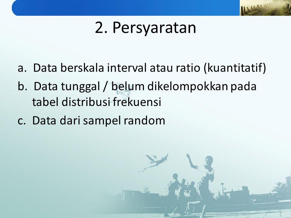 2. Persyaratan