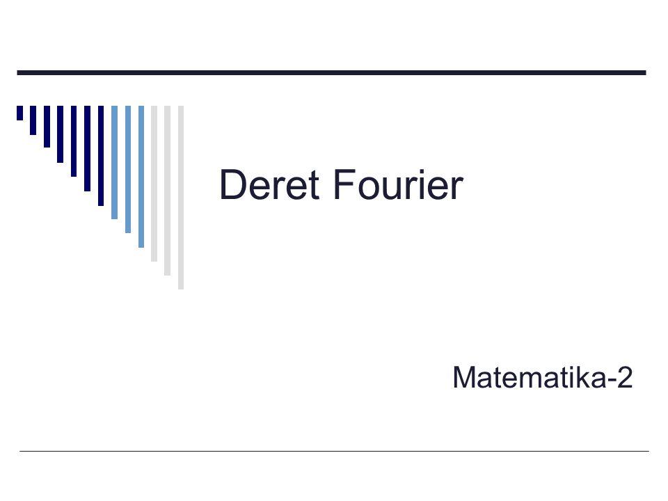Deret Fourier Matematika-2