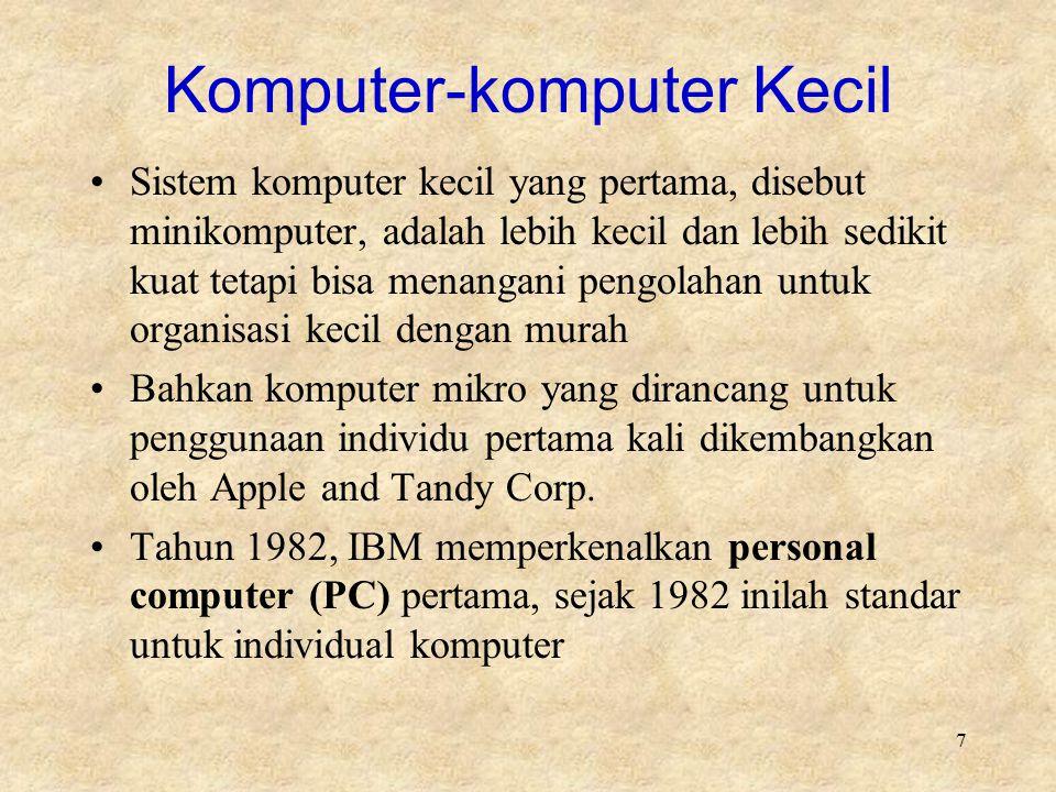 Komputer-komputer Kecil