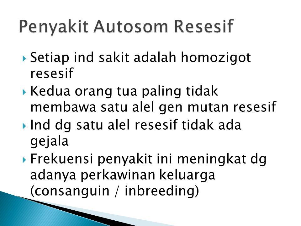 Penyakit Autosom Resesif