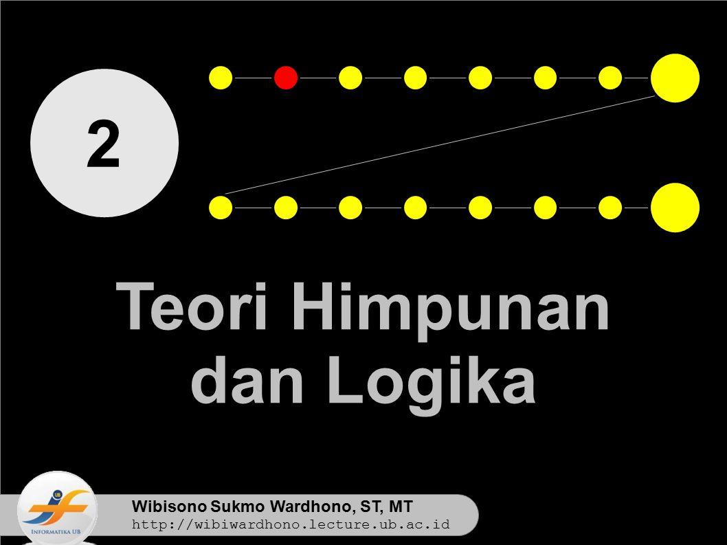 2 Teori Himpunan dan Logika