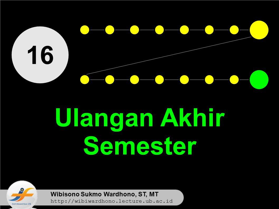 Ulangan Akhir Semester