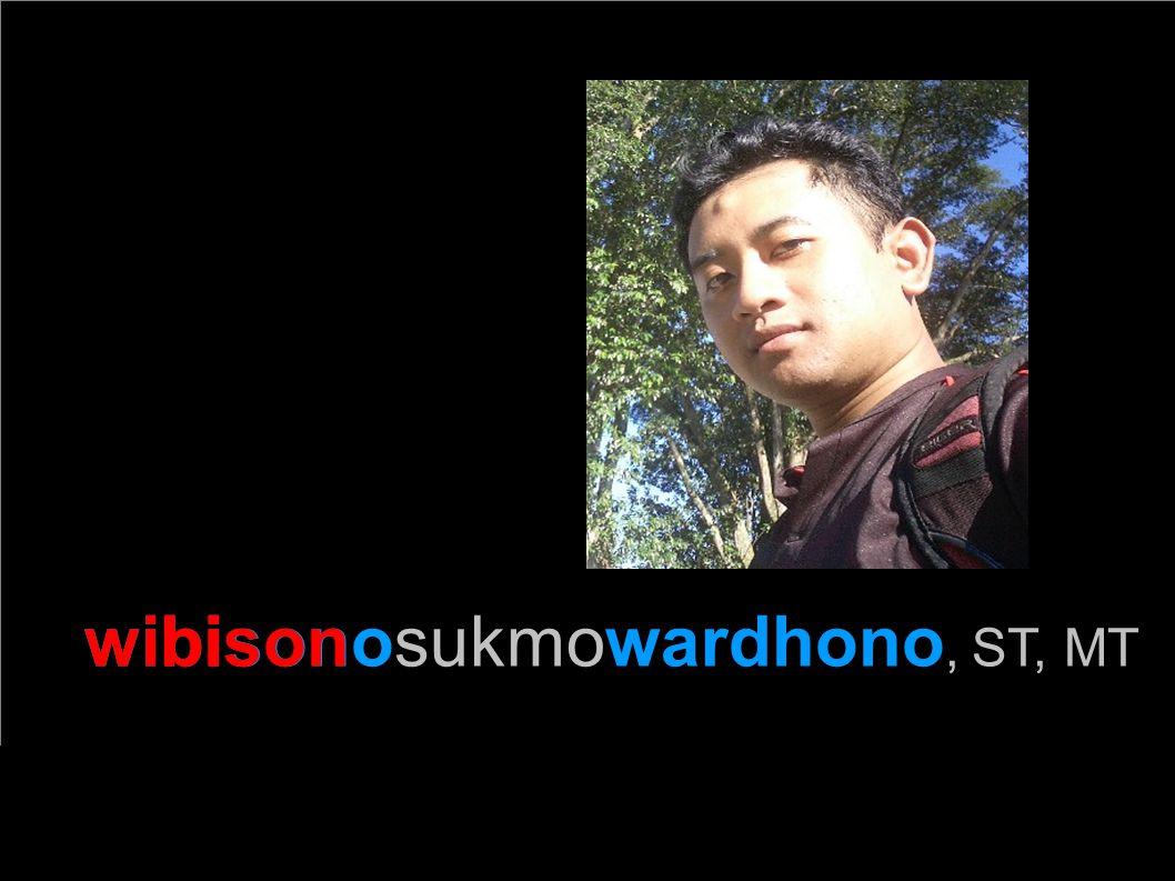 wibisonosukmowardhono, ST, MT bison
