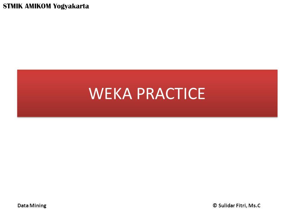 WEKA PRACTICE