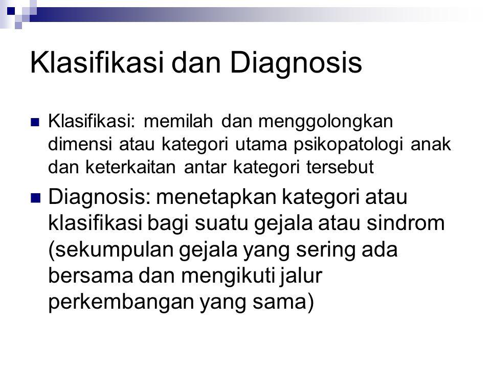 Klasifikasi dan Diagnosis