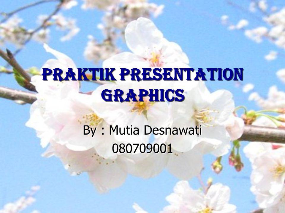 PRAKTIK PRESENTATION GRAPHICS