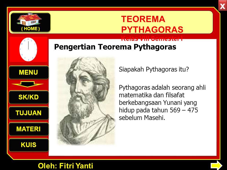 x Pengertian Teorema Pythagoras Siapakah Pythagoras itu