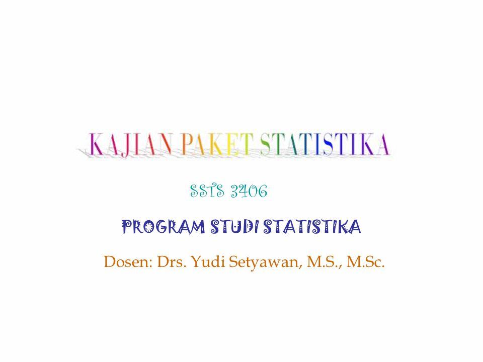 KAJIAN PAKET STATISTIKA