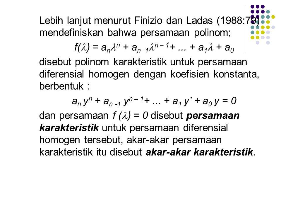 f() = ann + an -1n – 1+ ... + a1 + a0
