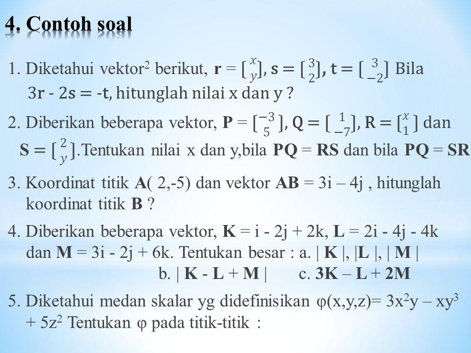 4. Contoh soal