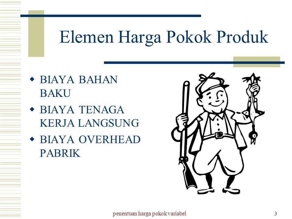 Elemen Harga Pokok Produk