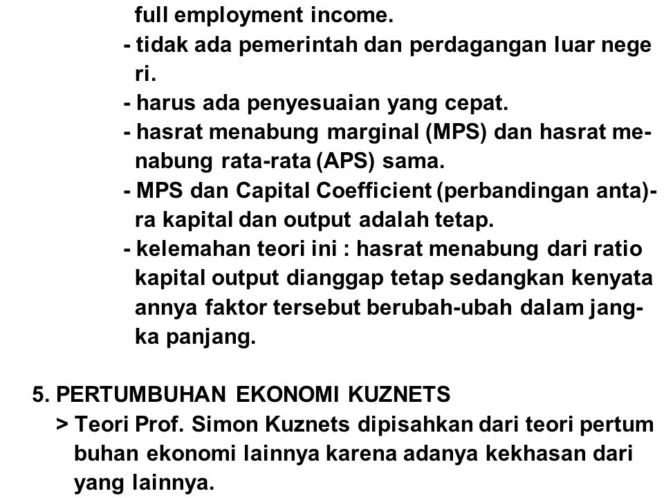 full employment income.