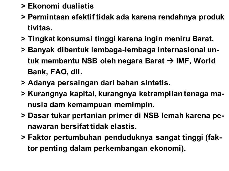 > Ekonomi dualistis