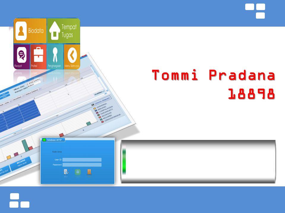 Tommi Pradana 18898
