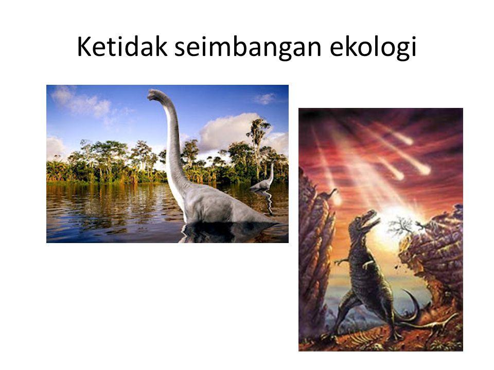 Ketidak seimbangan ekologi