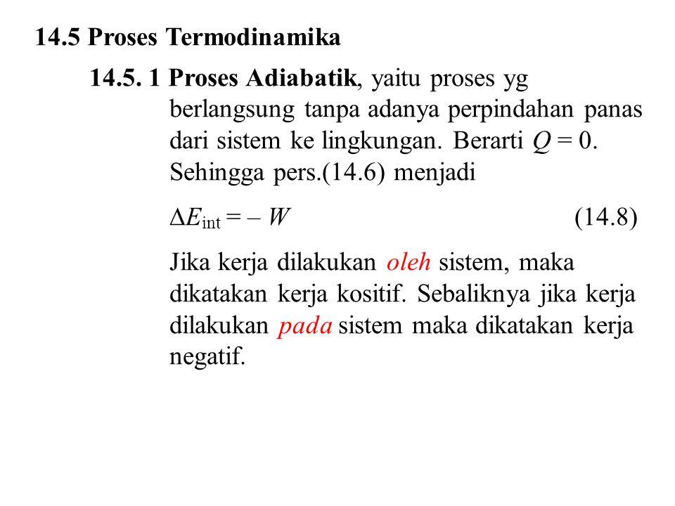 14.5 Proses Termodinamika