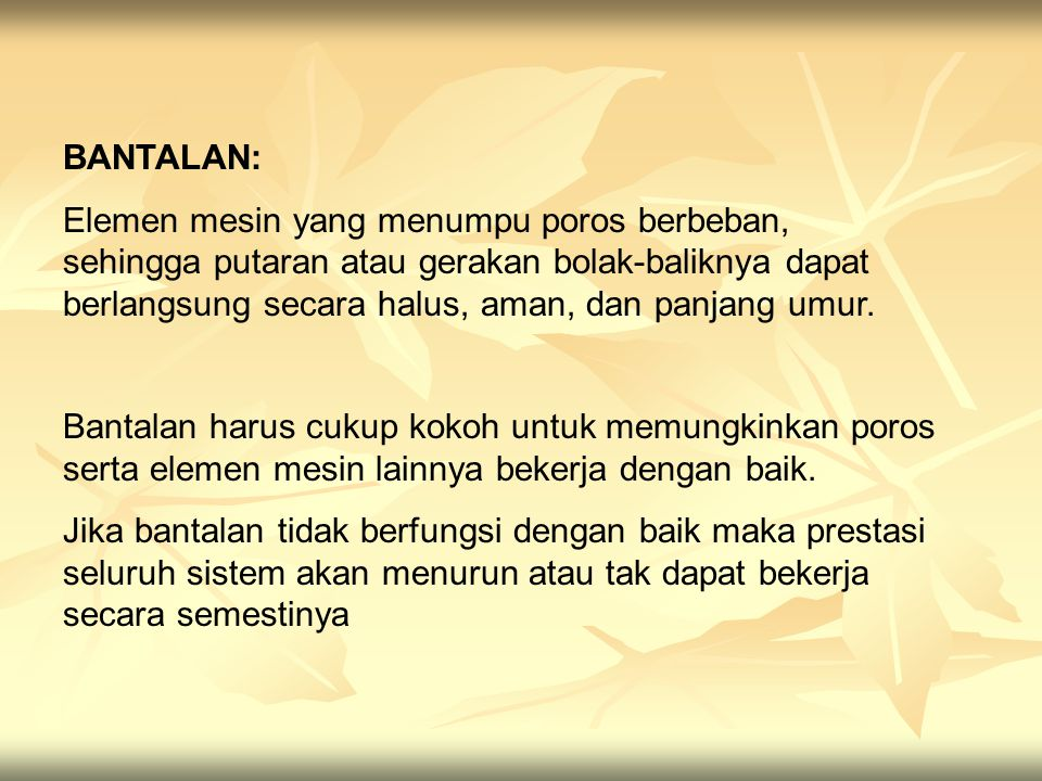 BANTALAN: