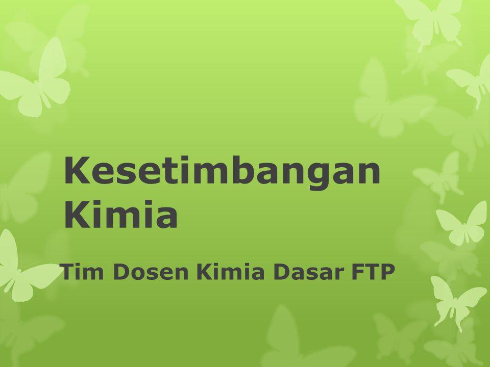 Tim Dosen Kimia Dasar FTP