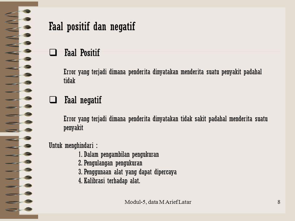 Modul-5, data M Arief Latar