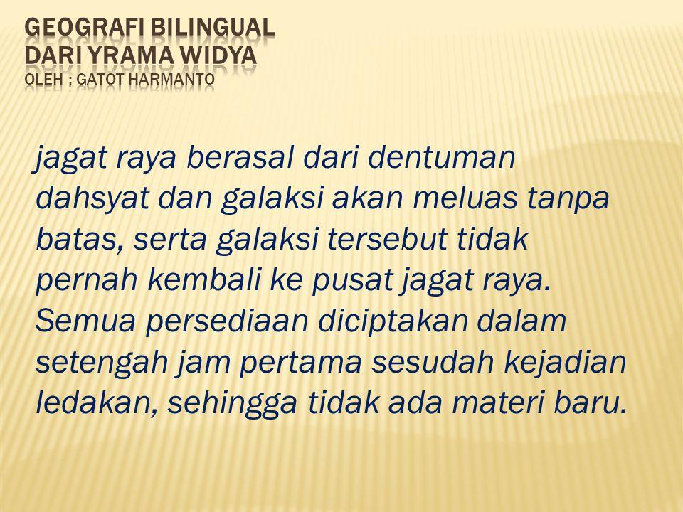 Geografi bilingual dari yrama widya