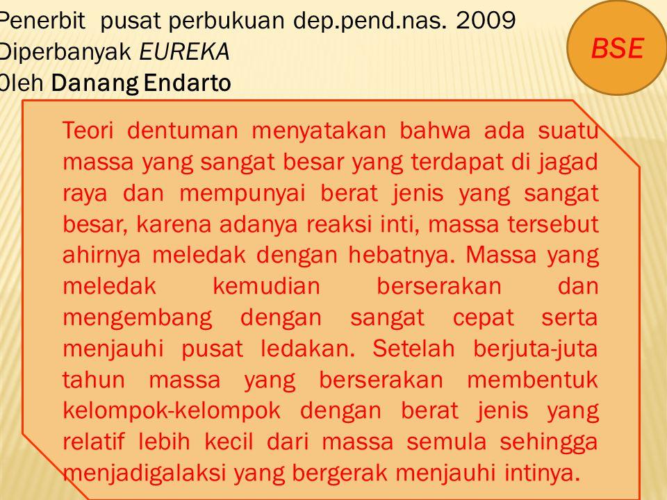 BSE Penerbit pusat perbukuan dep.pend.nas. 2009 Diperbanyak EUREKA