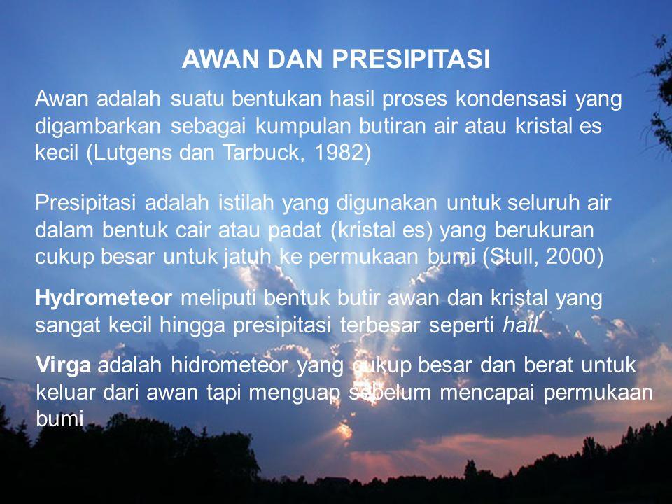 AWAN DAN PRESIPITASI