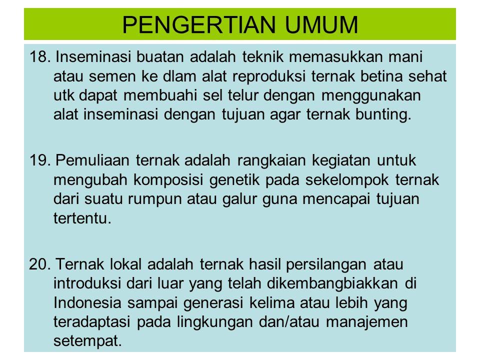 PENGERTIAN UMUM