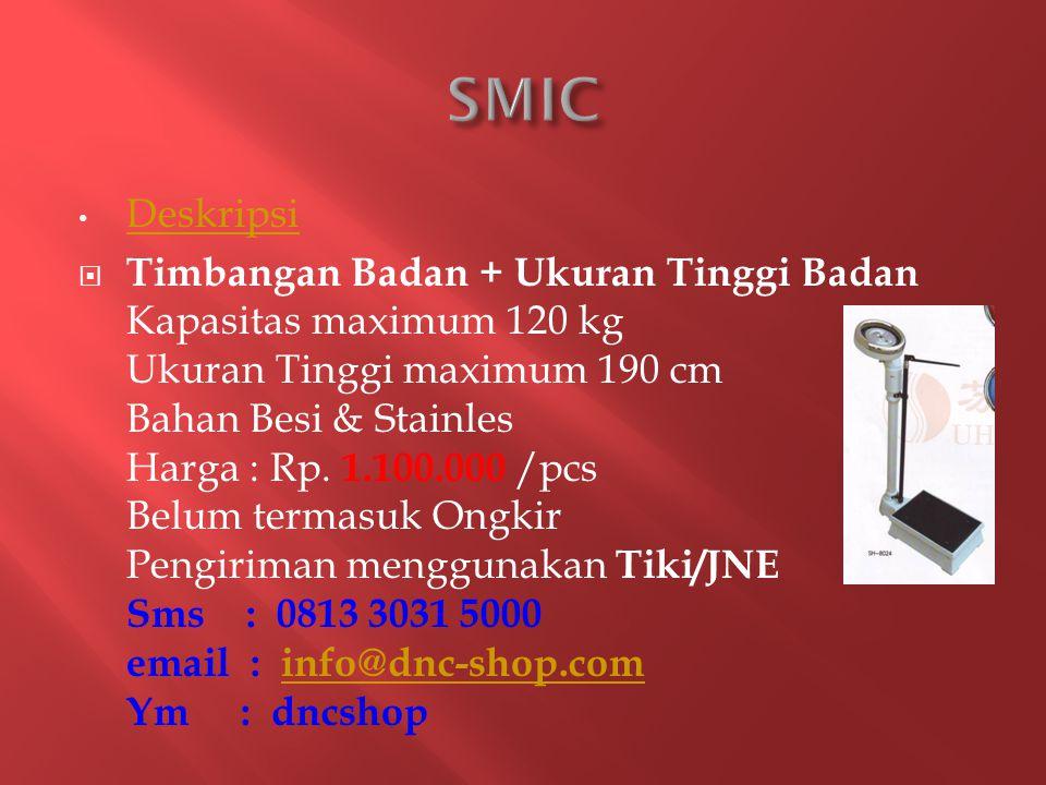 SMIC Deskripsi.