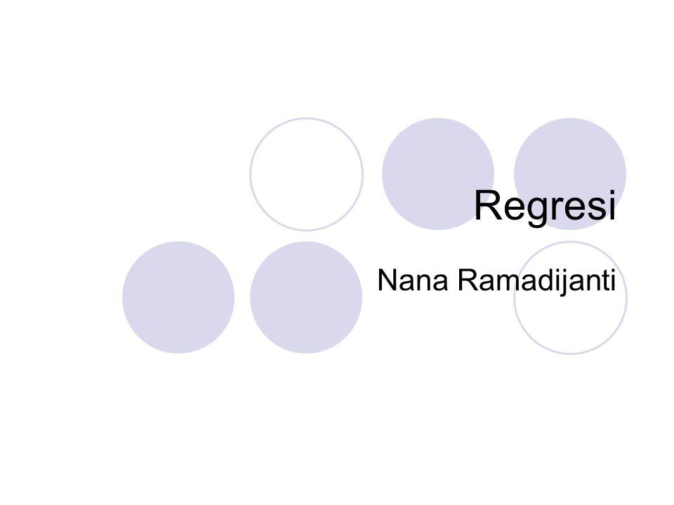 Regresi Nana Ramadijanti