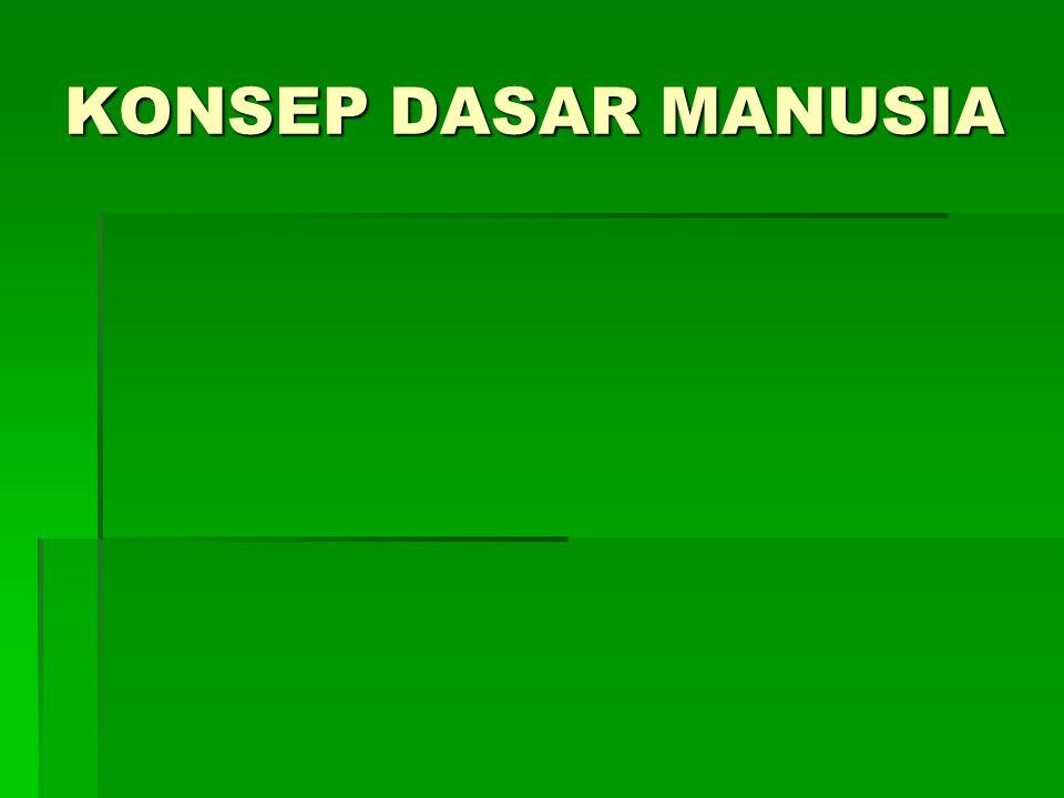 KONSEP DASAR MANUSIA