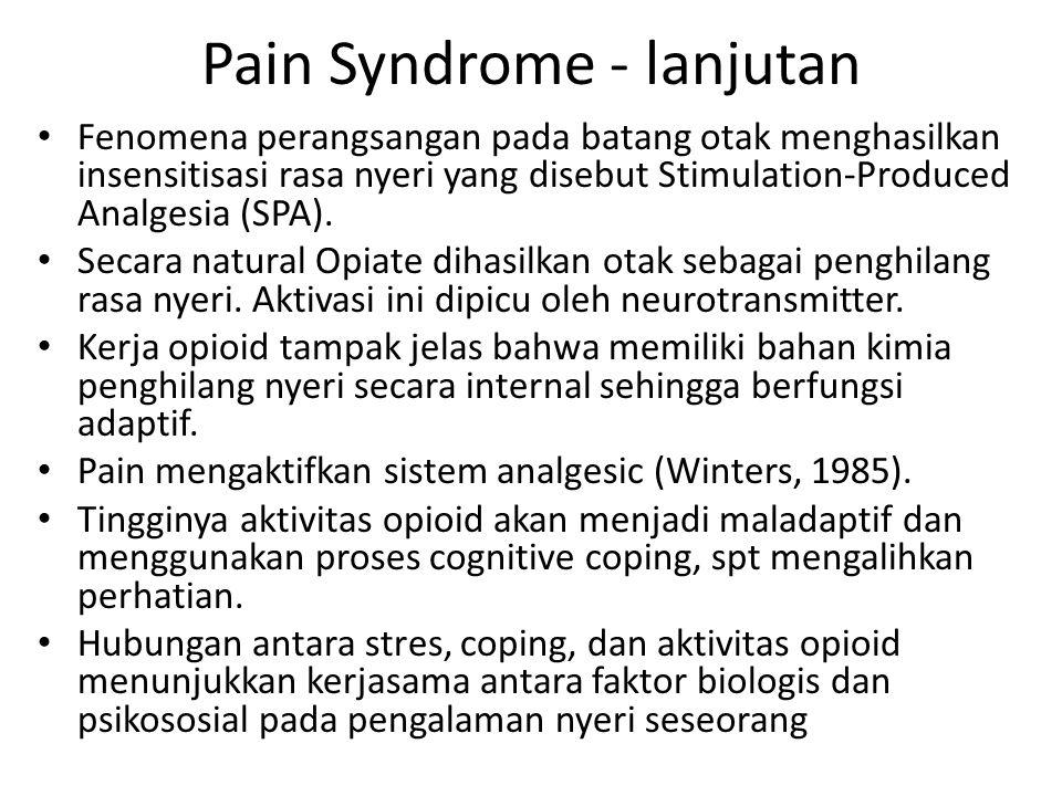Pain Syndrome - lanjutan