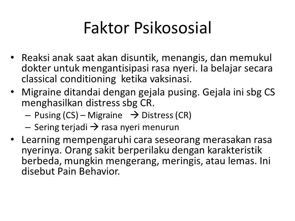 Faktor Psikososial