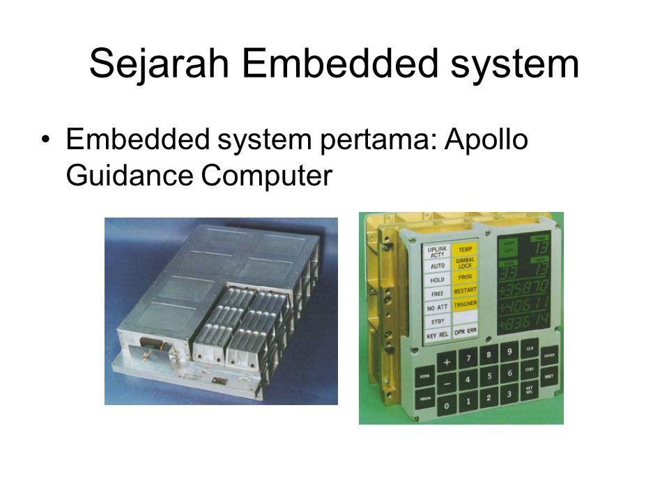 Sejarah Embedded system