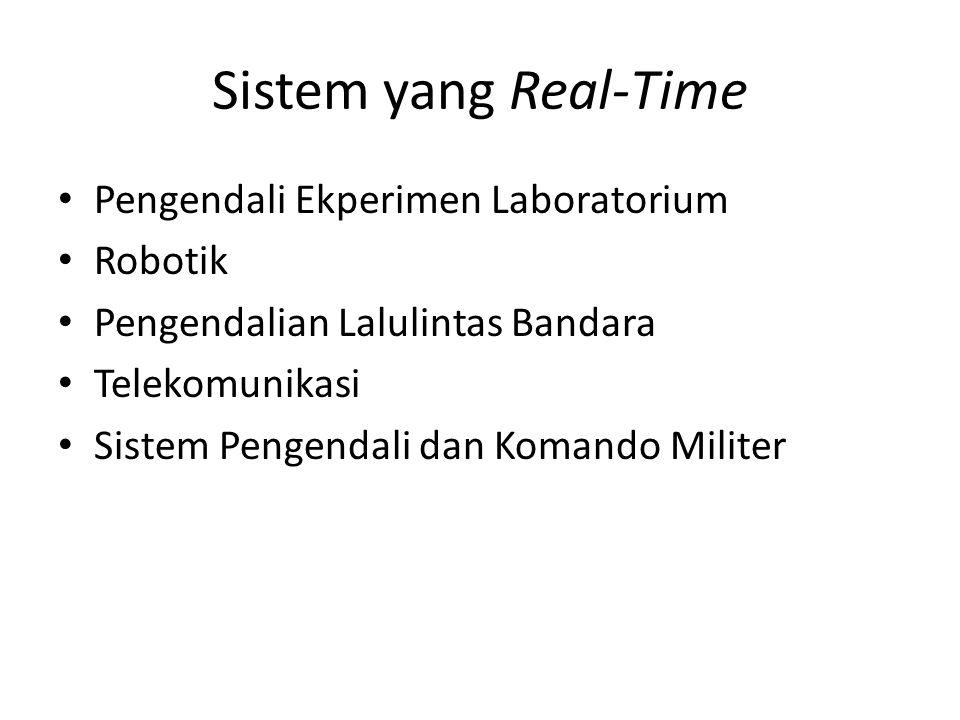 Sistem yang Real-Time Pengendali Ekperimen Laboratorium Robotik