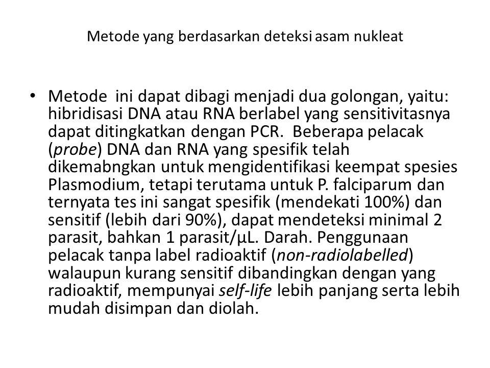 Metode yang berdasarkan deteksi asam nukleat